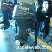 Used yamaha 40 hp 4 stroke outboard motor engine